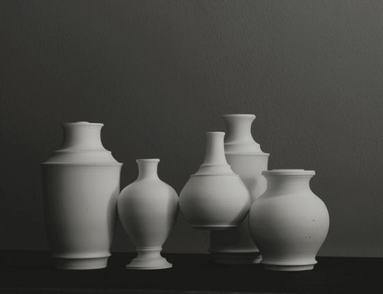 花瓶の原型時の写真