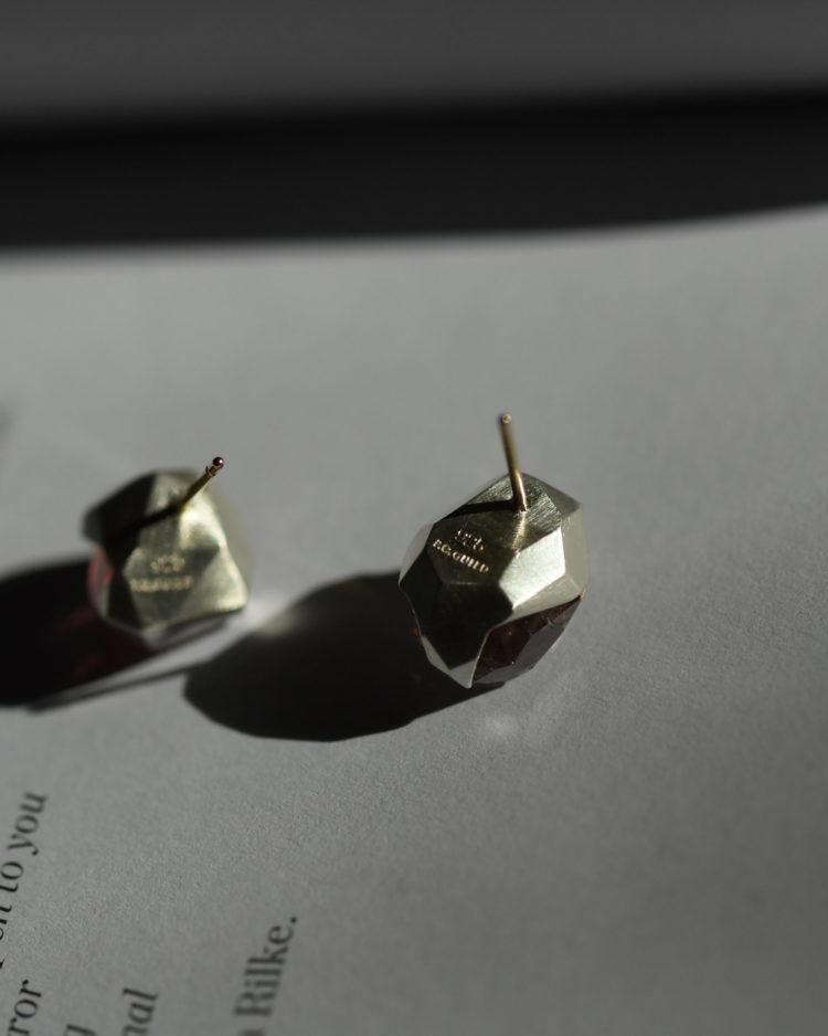 Pink Tourmaline Earrings / ピンクトルマリンのピアス 刻印イメージ