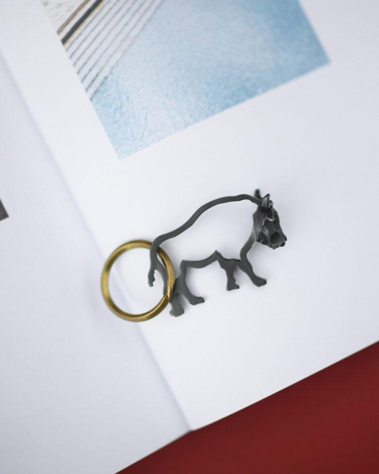 バッファローのキーホルダー/Buffalo Keychain
