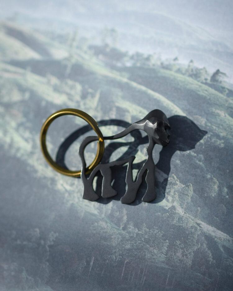 ゴリラのキーホルダー/Gorilla Keychain