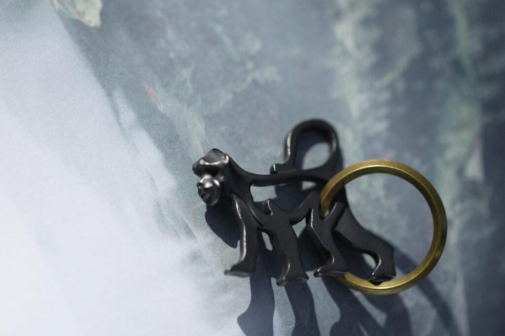 サルのキーホルダー/Monkey Keychain