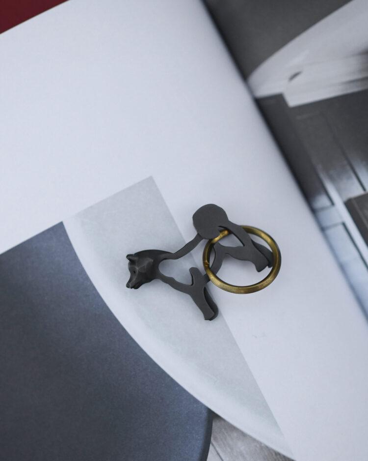柴犬のキーホルダー/Shiba Keychain