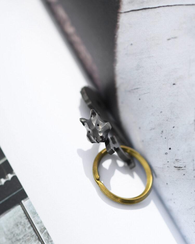 リスのキーホルダー/Squirrel Keychain