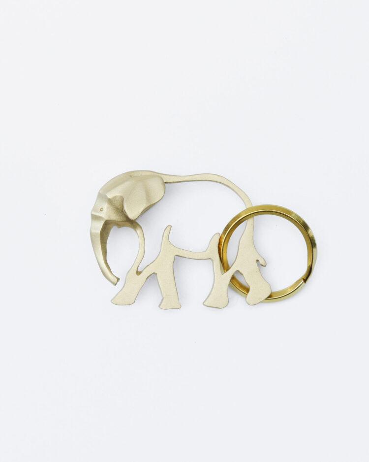 Elephant keychain ゾウのキーホルダー
