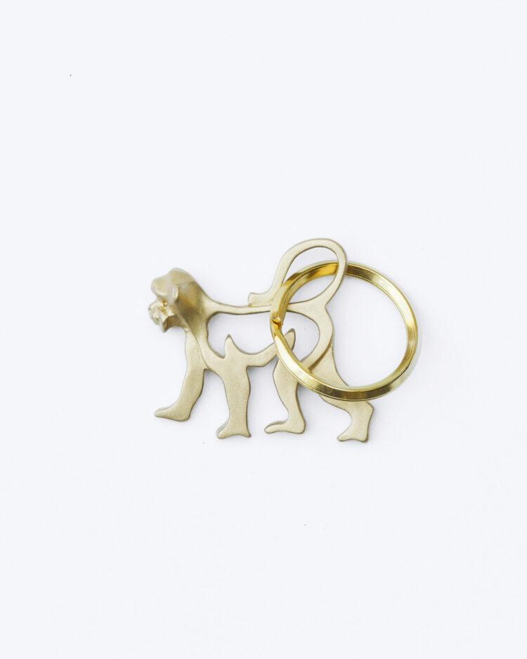 Monkey Keychain サルのキーホルダー