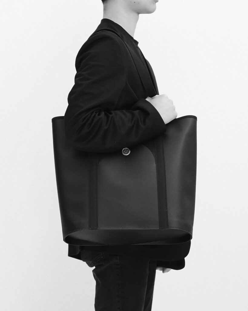 oval stand tote オーバルスタンドトート